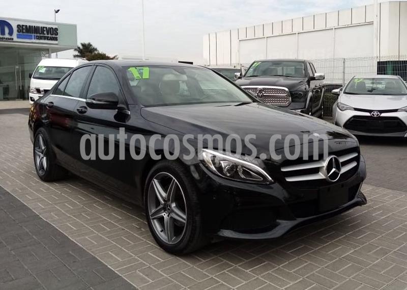 Mercedes Clase C 200 Exclusive Aut usado (2017) color Negro precio $360,000