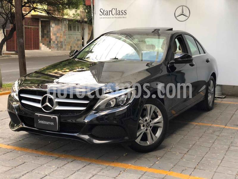 Mercedes Clase C 200 CGI Exclusive Aut usado (2018) color Negro precio $475,000