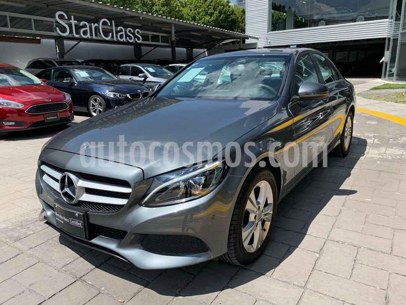 Mercedes Clase C 200 CGI Exclusive Aut usado (2018) color Gris precio $490,000