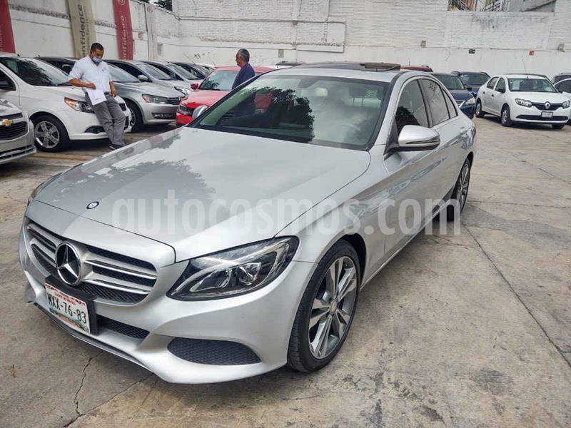 Mercedes Clase C 200 Exclusive Aut usado (2016) color Plata precio $309,000