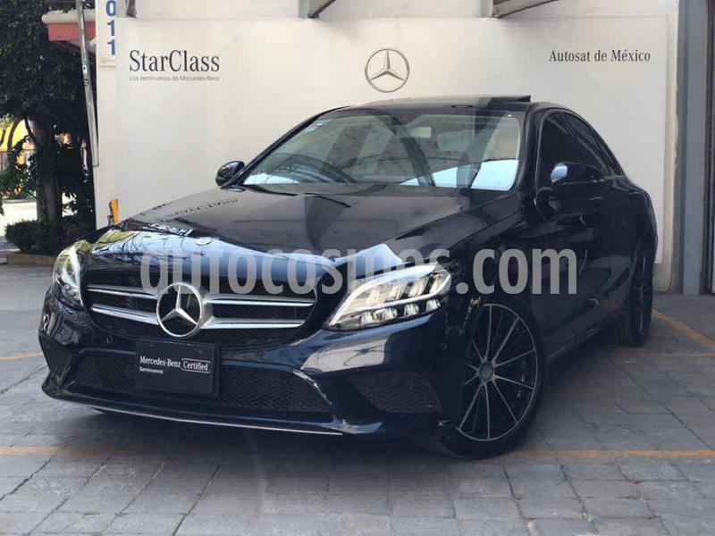 Mercedes Clase C 200 CGI Sport Aut usado (2019) color Azul precio $640,000