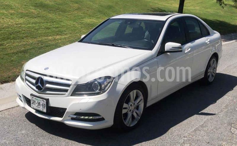 Mercedes Clase C 200 CGI Sport Plus Aut usado (2014) color Blanco precio $255,000