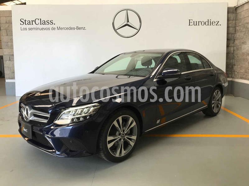 Mercedes Clase C 200 Sport Aut usado (2020) color Azul precio $750,000