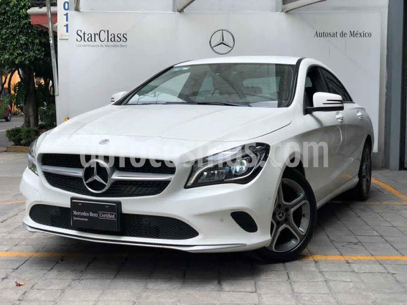Mercedes Clase CLA 200 CGI Sport usado (2018) color Blanco precio $440,000