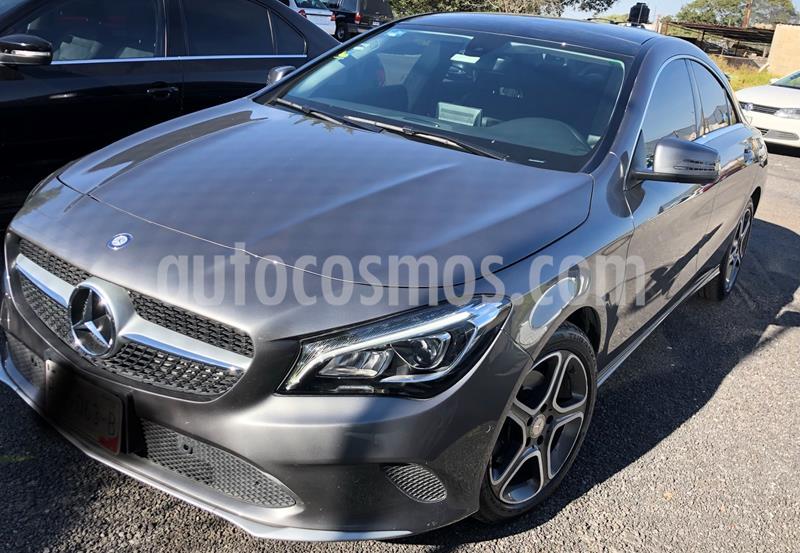 Mercedes Clase CLA 200 CGI Sport usado (2018) color Gris precio $420,000