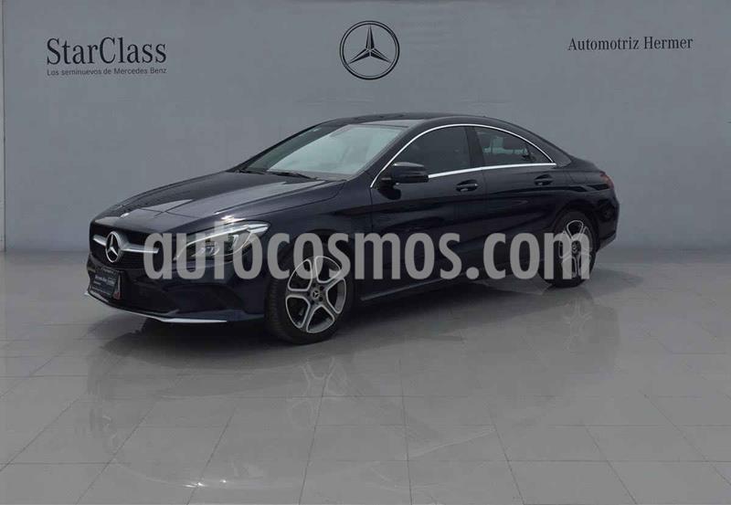 Mercedes Clase CLA 200 CGI Sport usado (2018) color Azul precio $399,900