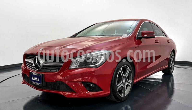 Mercedes Clase CLA 200 CGI usado (2016) color Rojo precio $352,999