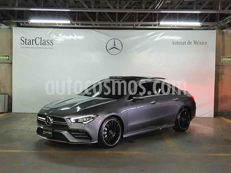 Mercedes Clase CLA 35 4MATIC usado (2020) color Gris precio $899,000