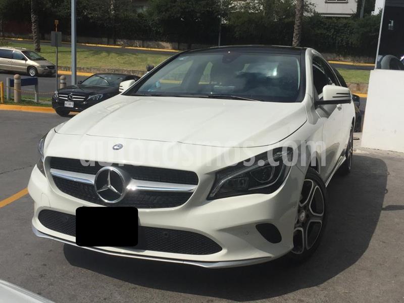 Mercedes Clase CLA 200 CGI Sport usado (2017) color Blanco Cirro precio $370,000