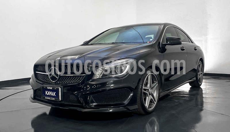Mercedes Clase CLA 200 CGI Sport usado (2014) color Negro precio $352,999