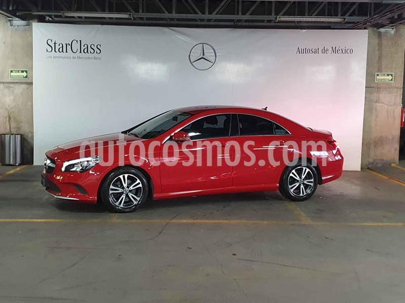 Foto Mercedes Clase CLA 200 CGI usado (2018) color Rojo precio $399,000