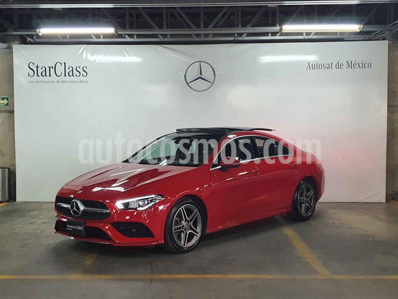Mercedes Clase CLA 250 CGI Sport usado (2020) color Rojo precio $759,000