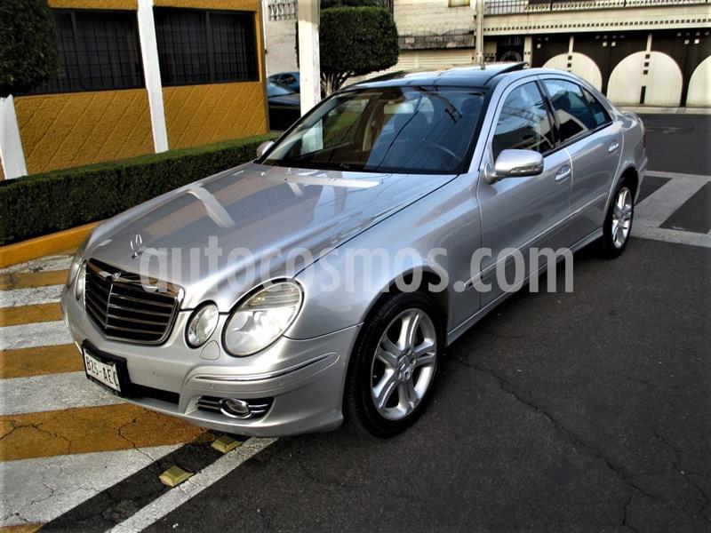 Mercedes Clase E 500 Avantgarde usado (2008) color Plata precio $159,900