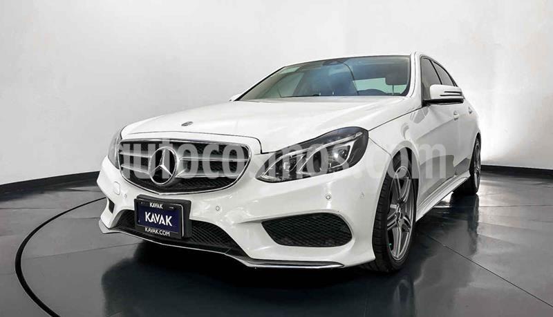 Mercedes Clase E 400 CGI Sport usado (2014) color Blanco precio $394,999