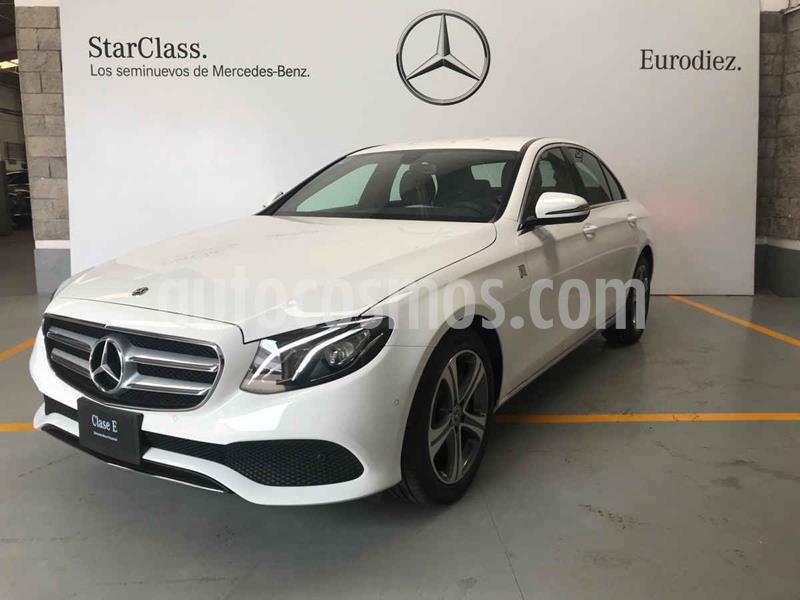 Mercedes Clase E 200 CGI Exclusive usado (2020) color Blanco precio $884,000