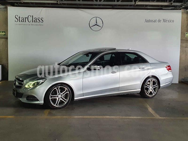 Foto Mercedes Clase E 250 Avantgarde usado (2014) color Plata precio $309,000