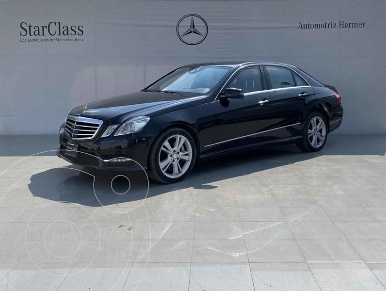 Mercedes Clase E 500 CGI Guard usado (2013) color Negro precio $569,900