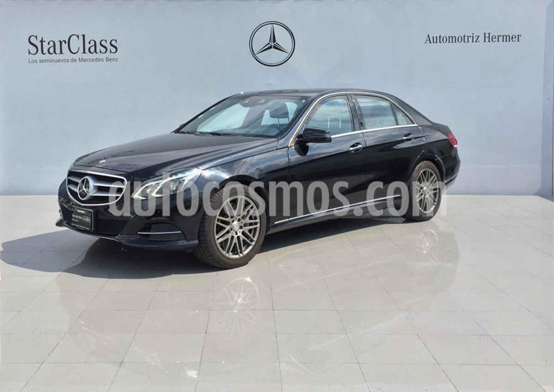 Mercedes Clase E 500 CGI Guard usado (2014) color Negro precio $729,900