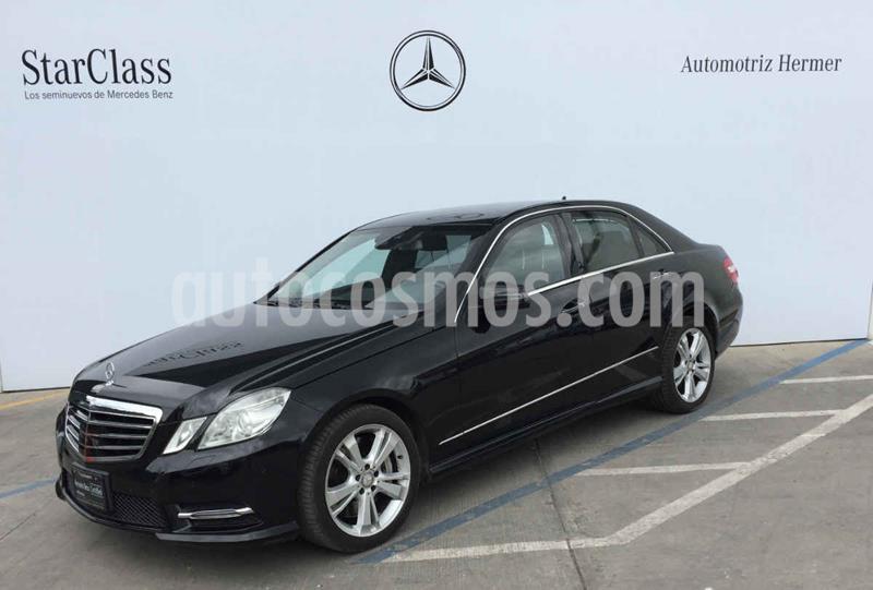 Mercedes Clase E 500 Guard usado (2013) color Negro precio $569,900