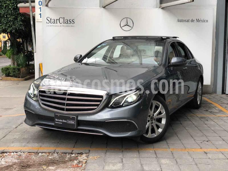 Mercedes Clase E 200 CGI Exclusive usado (2019) color Gris precio $670,000