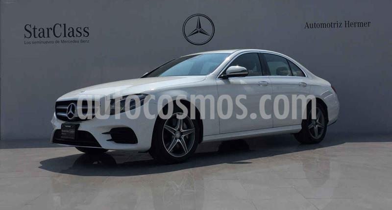 Mercedes Clase E 400 CGI Sport usado (2017) color Blanco precio $649,900