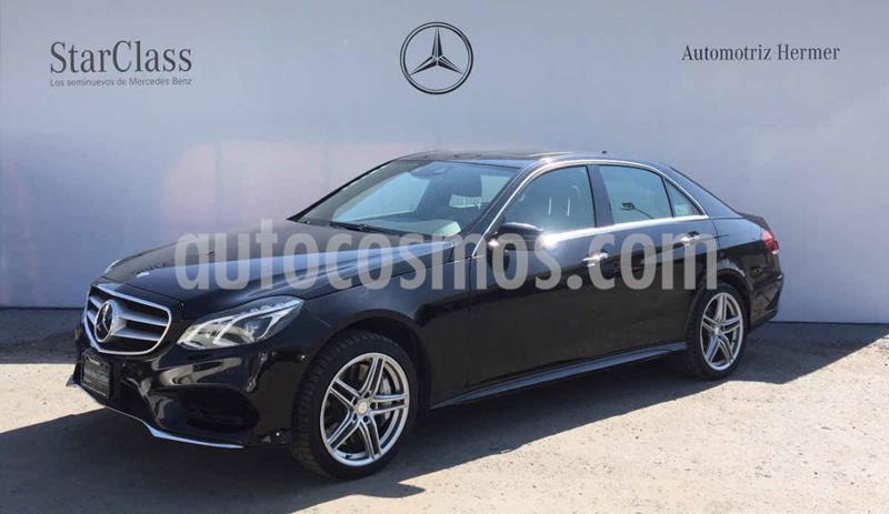 Mercedes Clase E 500 Avantgarde usado (2014) color Negro precio $449,900