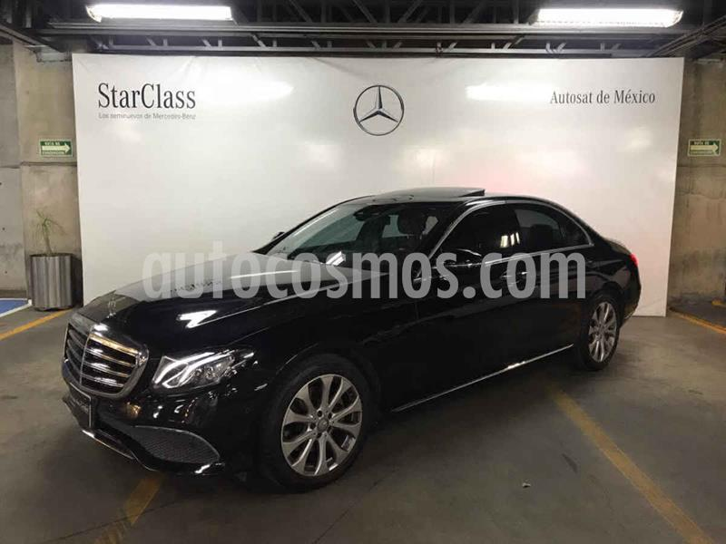 Mercedes Clase E 200 CGI Exclusive usado (2017) color Negro precio $499,000