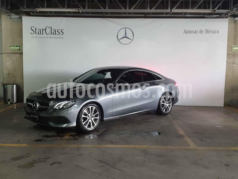 Mercedes Clase E 300 Coupe usado (2020) color Gris precio $849,000