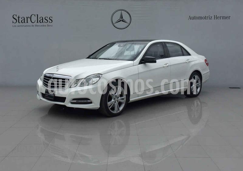 Mercedes Clase E 250 Guard usado (2013) color Blanco precio $499,900