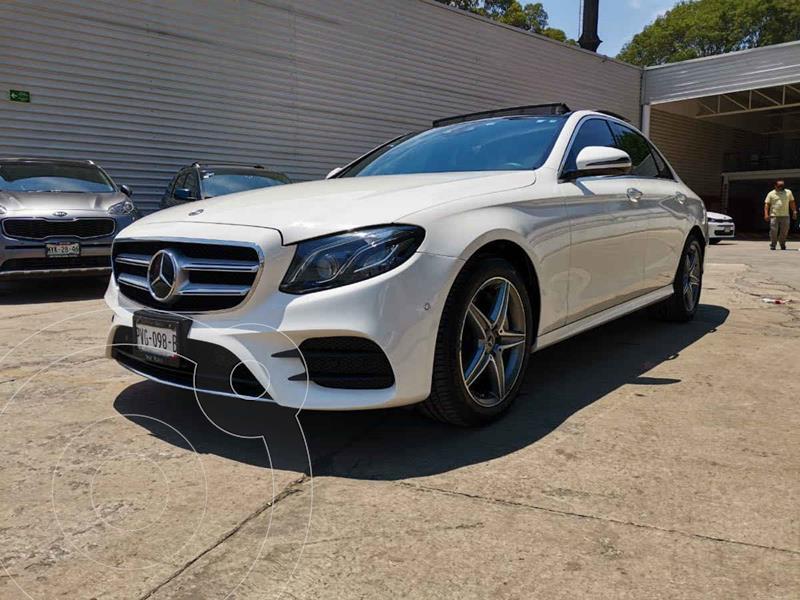 Foto Mercedes Clase E 400 CGI Sport usado (2018) color Blanco precio $750,000