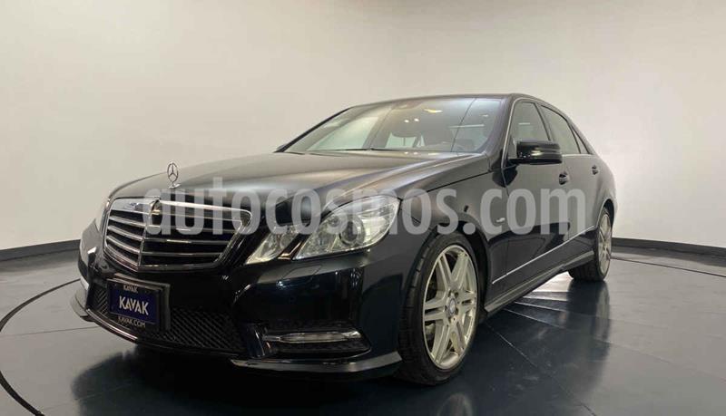 Mercedes Clase E 350 CGI Avantgarde usado (2012) color Negro precio $314,999