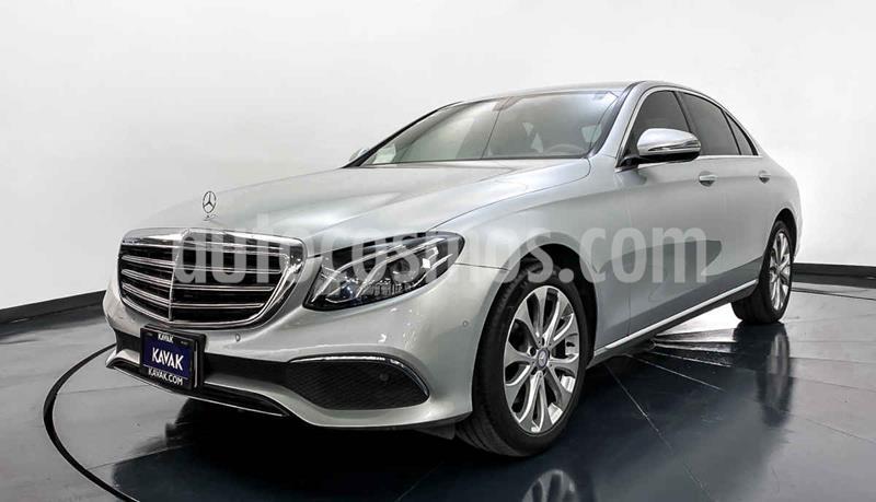 Mercedes Clase E 200 CGI Exclusive usado (2017) color Gris precio $492,999