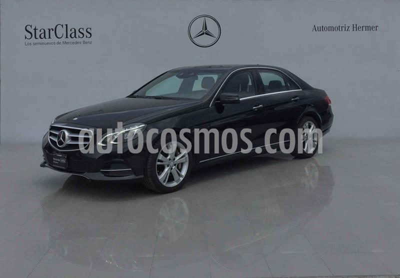 Mercedes Clase E 500 CGI Guard usado (2014) color Negro precio $699,900