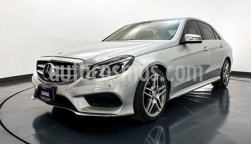 Mercedes Clase E 400 CGI Sport usado (2014) color Plata precio $394,999