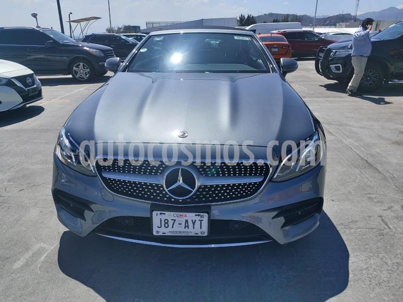 Mercedes Clase E 300 Convertible usado (2018) color Plata Dorado precio $829,900