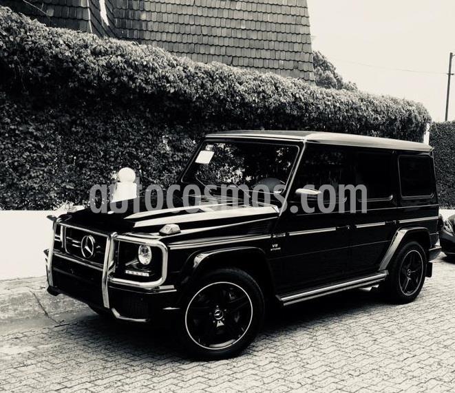 Mercedes Clase G G 63 AMG Biturbo usado (2016) color Negro precio $1,790,000