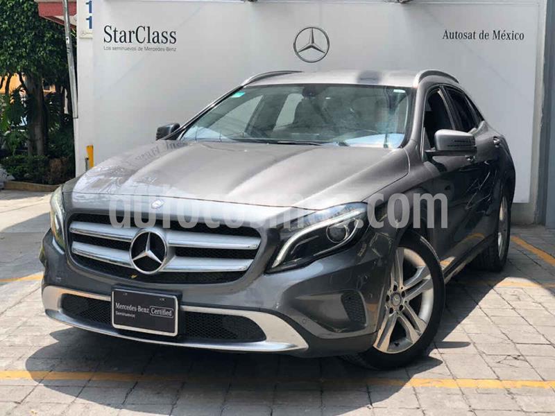 Mercedes Clase GLA 200 CGI Sport Aut usado (2015) color Gris precio $270,000