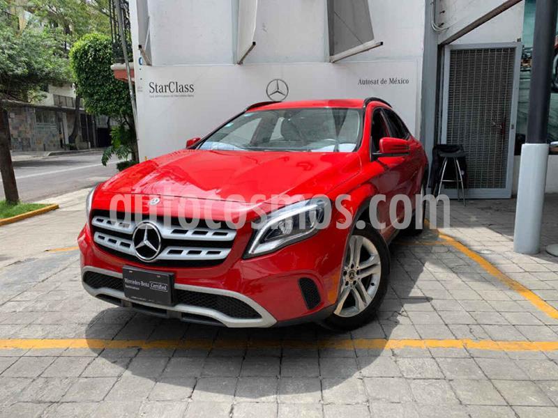 Mercedes Clase GLA 200 CGI Sport Aut usado (2018) color Rojo precio $385,000
