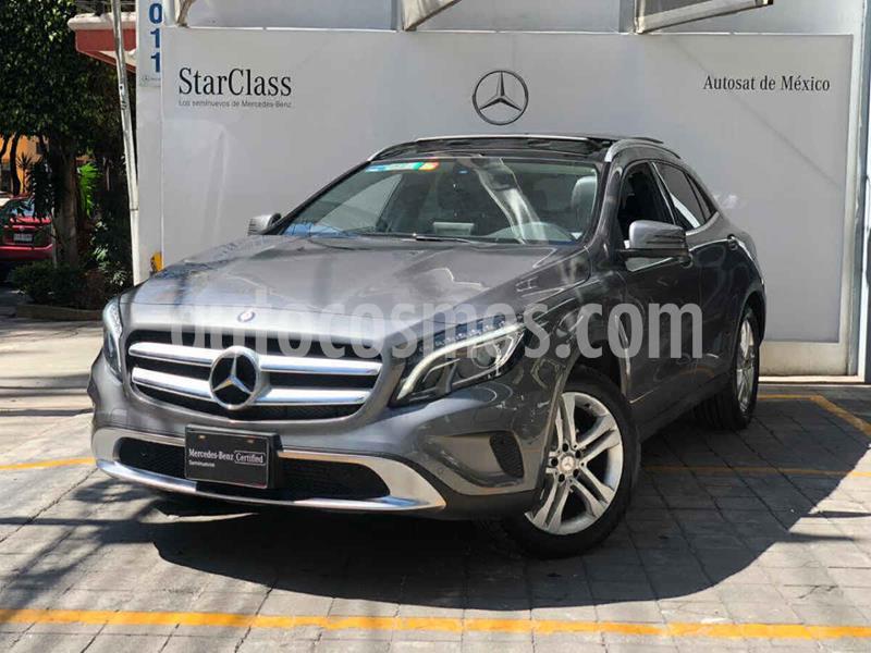 Mercedes Clase GLA 200 CGI Sport Aut usado (2017) color Gris precio $395,000