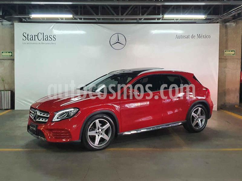 Mercedes Clase GLA 250 CGI Sport Aut usado (2020) color Rojo precio $589,000