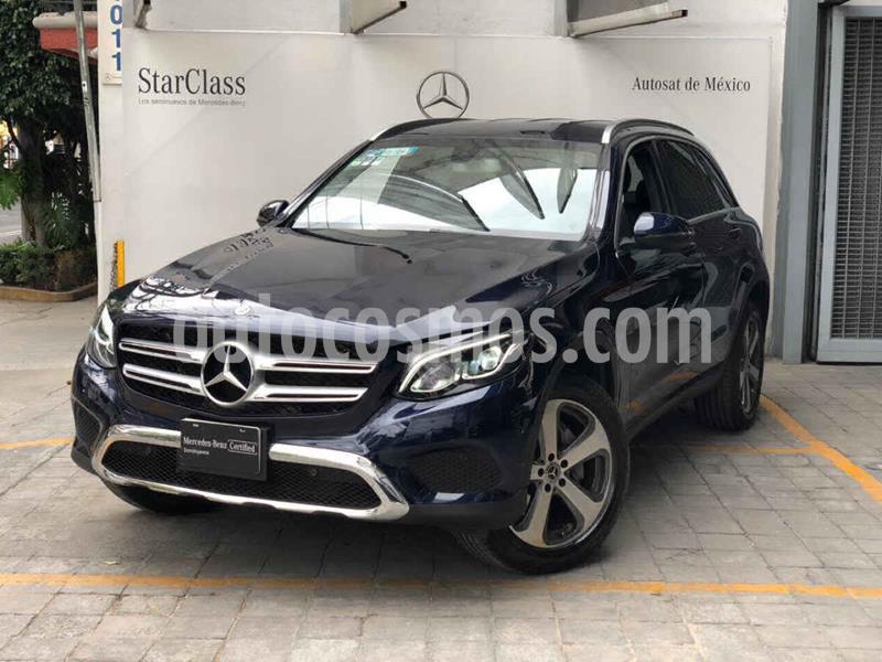 Mercedes Clase GLC 300 Off Road usado (2019) color Azul precio $695,000