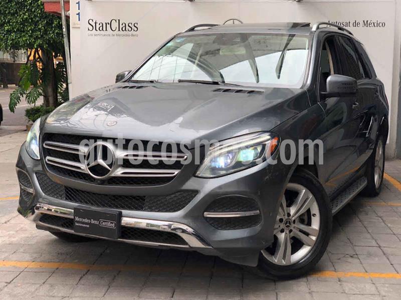 Mercedes Clase GLE SUV 350 Exclusive usado (2018) color Gris precio $720,000