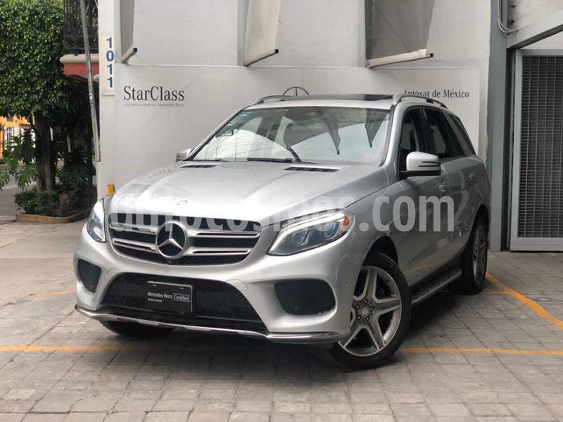 Mercedes Clase GLE SUV 400 Sport usado (2016) color Plata precio $640,000