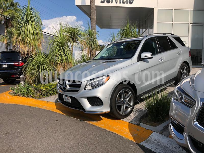 Mercedes Clase GLE SUV 400 Sport usado (2017) color Plata Dorado precio $614,000