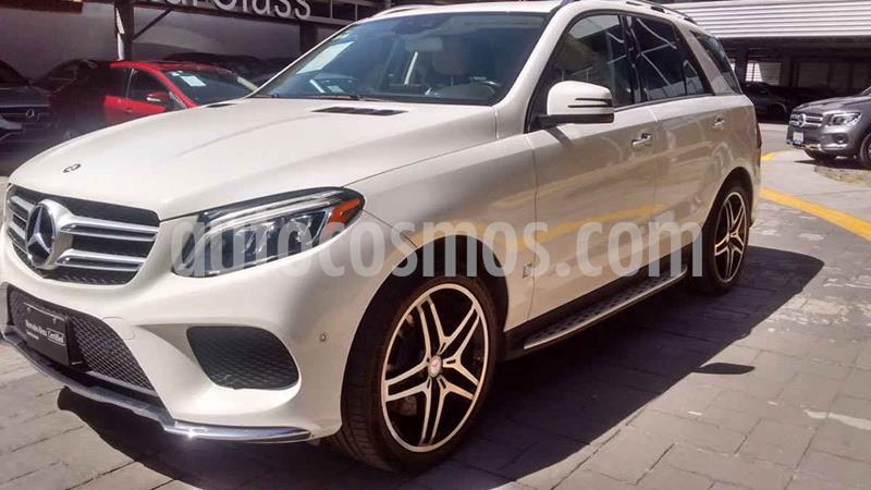 Mercedes Clase GLE SUV 500 Biturbo usado (2017) color Blanco precio $750,000