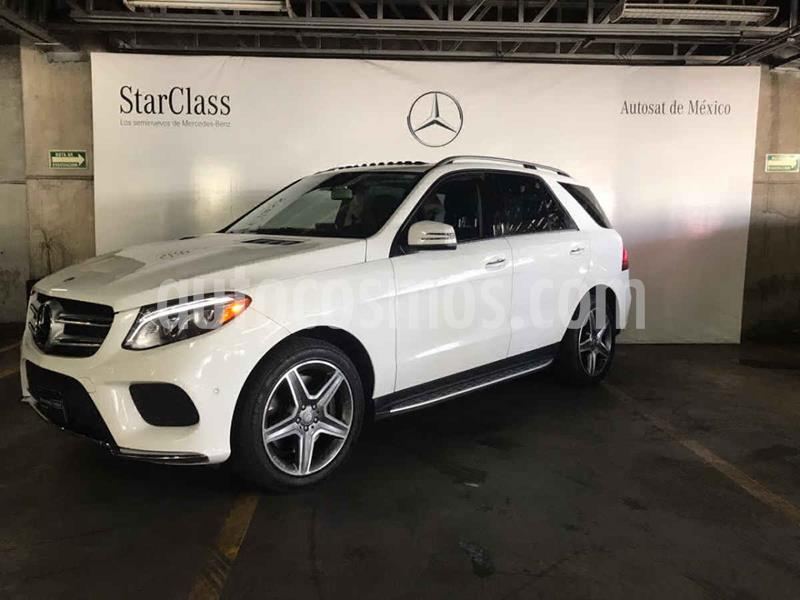 Mercedes Clase GLE SUV 400 Sport usado (2016) color Blanco precio $590,000