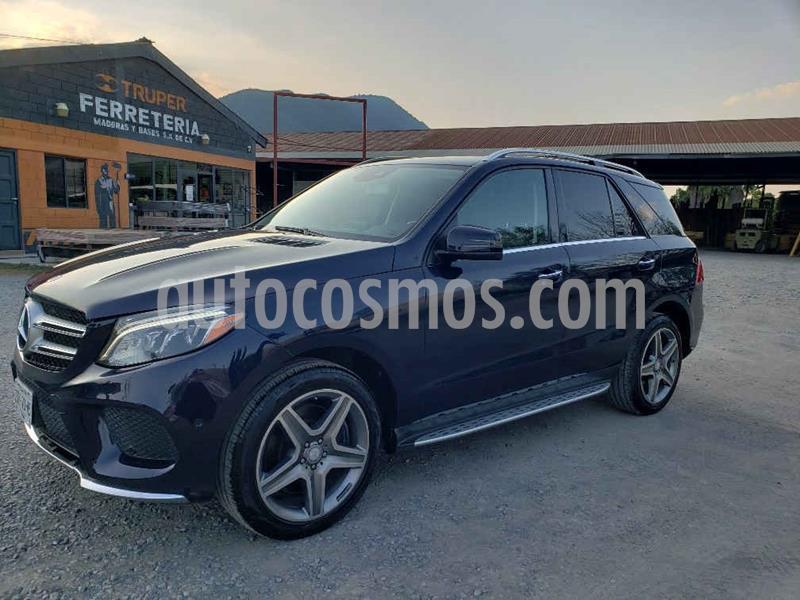 Mercedes Clase GLE SUV 400 Sport usado (2017) color Azul precio $599,000