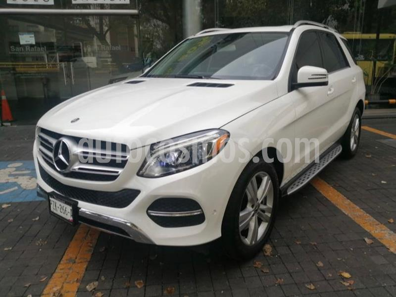 Mercedes Clase GLE SUV 350 Exclusive usado (2018) color Blanco precio $732,000