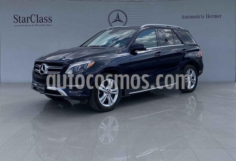 Mercedes Clase GLE SUV 350 Exclusive usado (2018) color Azul precio $699,900