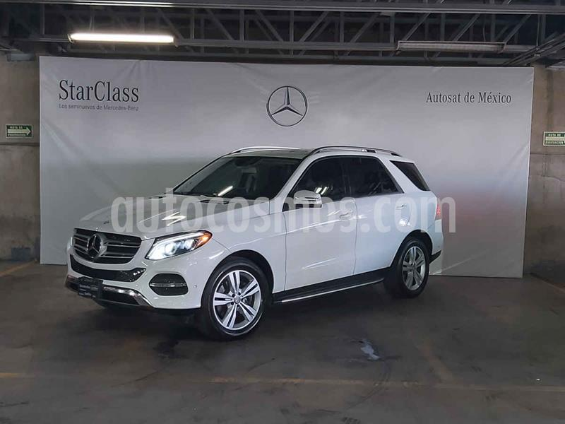 Mercedes Clase GLE SUV 350 Exclusive usado (2017) color Blanco precio $589,000